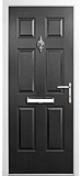 grp composite door - Black diamond range - magellan style