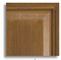 Composite door colour - oak