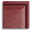 Composite door colour - red