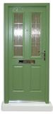 New GRP door colour - Reseda Green