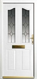 GRP Composite doors - Platinum door range - shackleton style