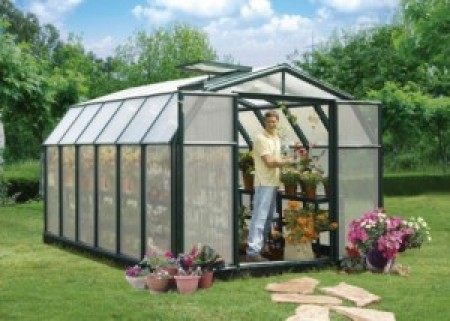 Rion Hobby Greenhouse 8x12 Green