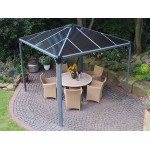 Palermo 3000 Gazebo  Grey