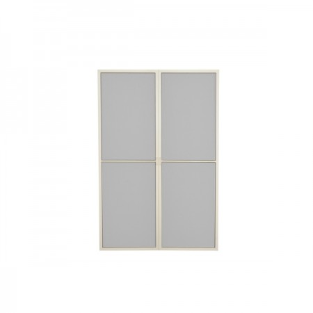 SANREMO SCREEN DOOR SET WHITE