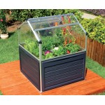 Plant Inn Greenhouse 4x4 Silver