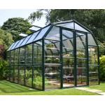 Rion Grand Greenhouse 8x12 Green Clear