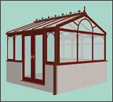 3D Gable Fronted Design Conservatory from Classic UK