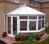 3 facet Victorian Conservatory