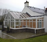 Georgian P-Shaped Conservatory Design from Classic