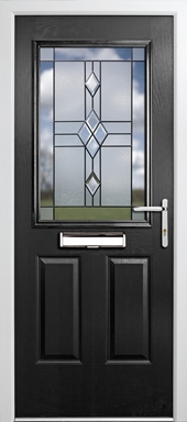 GRP Composite Doors - The Black Diamond door range