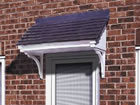 Berkley over door canopy from Classic UK PVC Home Improvements, Llanelli, Swansea, Wales, UK