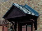Carisbrooke over door canopy from Classic UK PVC Home Improvements, Llanelli, Swansea, Wales, UK