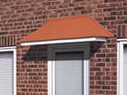 Elsdon over door canopy from Classic UK PVC Home Improvements, Llanelli, Swansea, Wales, UK