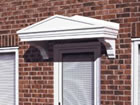 Rockingham over door canopy from Classic UK PVC Home Improvements, Llanelli, Swansea, Wales, UK