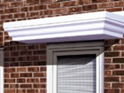 Stafford over door canopy from Classic UK PVC Home Improvements, Llanelli, Swansea, Wales, UK