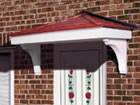 Suffolk over door canopy from Classic UK PVC Home Improvements, Llanelli, Swansea, Wales, UK