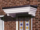 Warwick over door canopy from Classic UK PVC Home Improvements, Llanelli, Swansea, Wales, UK