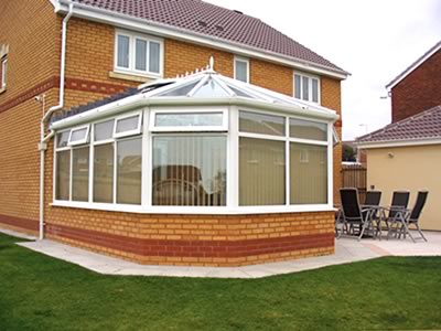 Conservatories, glass roof conservatory, Llanelli, Swansea, Wales, UK